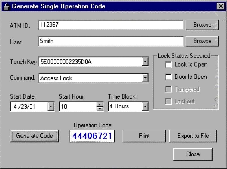 Carolina ATM - ATM Services & Solutions | Sargent and Greenleaf Lock 6