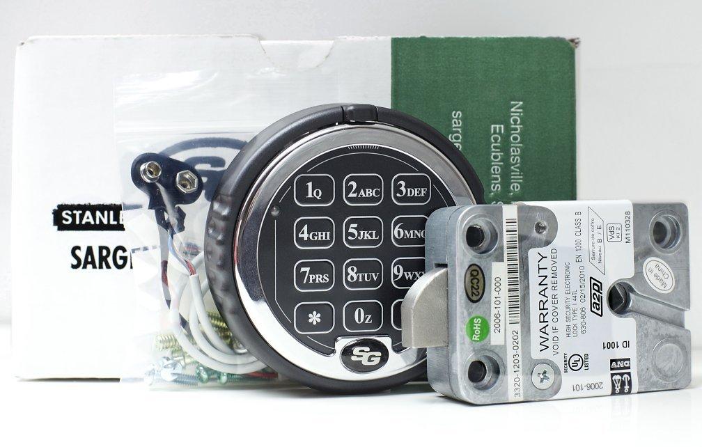 Carolina ATM - ATM Services & Solutions | Sargent and Greenleaf Lock 1